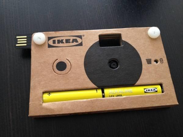 La futura cámara de fotos reciclable de IKEA