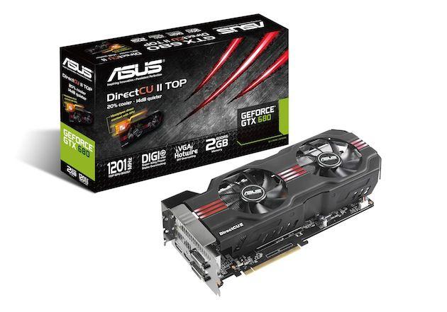 ASUS GTX 680 DirectCU II TOP