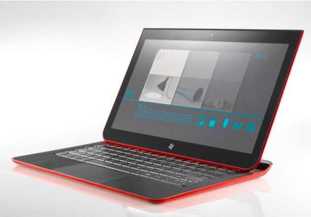 Intel muestra un híbrido de ultrabook y tablet con Windows 8