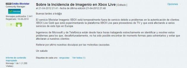 Movistar Imagenio en Xbox: crónica de un despropósito 31