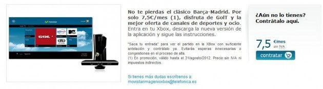Movistar Imagenio en Xbox: crónica de un despropósito 29