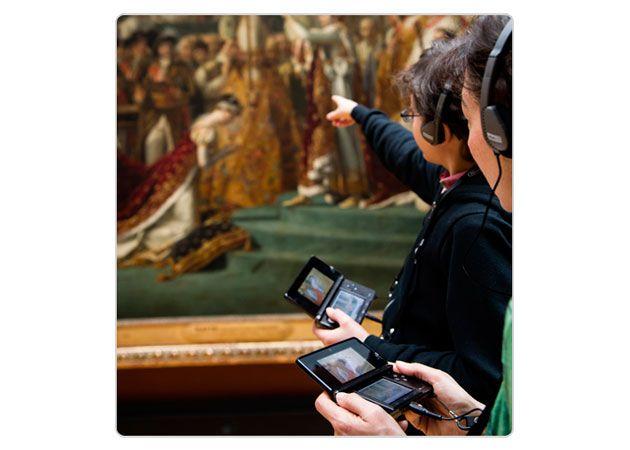 Nintendo 3DS ya guía a los visitantes por el Louvre 29