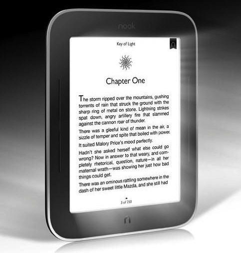 Nook SimpleTouch con iluminación frontal: ya puedes leer e-books de noche