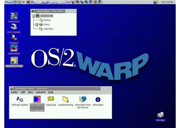 Ocho Meses Antes Del Lanzamiento De Windows 95 OS 2 Warp 30 Se Present Como El Primer Sistema Operativo En Tener Soporte Para Internet Integrado