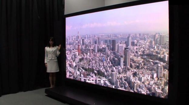 Panasonic presenta su televisión UltraHD de 145 pulgadas 28