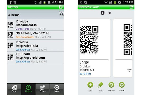 Four qrdroid1 applications that can not miss in your Android phone