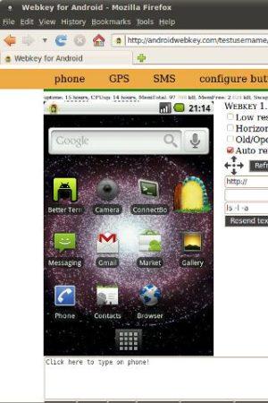 Control remoto desde cualquier navegador de tu Android con Webkey 29