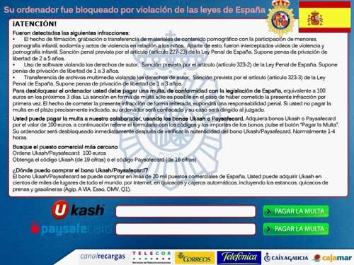 """El """"virus de la polícia"""" vuelve con fuerza 40"""