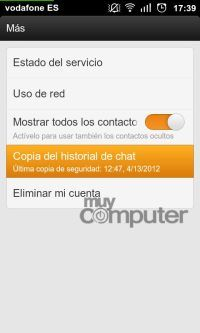 whatsapp pc13Guarda las conversaciones, fotos y archivos de WhatsApp en tu PC