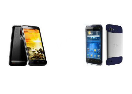 Las chinas ZTE y Huawei apuestan por el mercado smartphone de gama alta