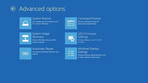 Microsoft acabará con la tortura F8 para las opciones de arranque de Windows 8 30