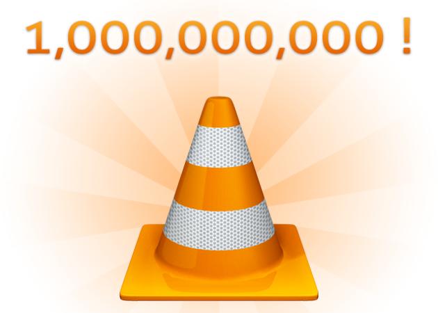 VLC sobrepasa los 1.000 millones de descargas