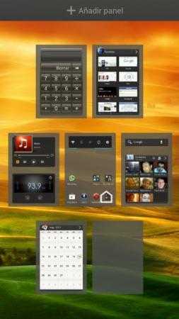 HTC Sense pantallas