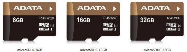 MicroSDHC ADATA Premier Pro, hasta 45 Mbytes/s