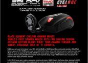 Thermaltake Black Element Cyclone Edition, ratón para gamers con manos sudorosas 45