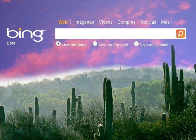 Bing crece en Estados Unidos y supera el 30% de cuota