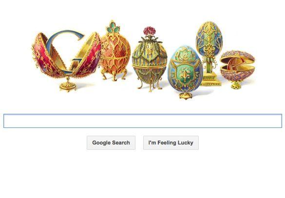 Google Feberge doodle