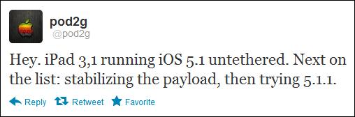Pod2g demuestra jailbreak untethered en el nuevo iPad con iOS 5.1 30
