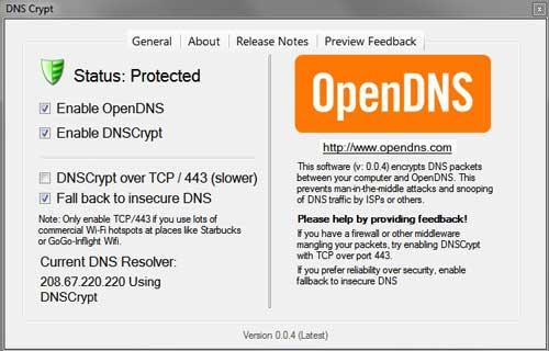 DNSCrypt llega a Windows, cifrado en Internet en todo momento 28