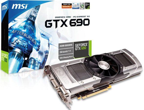 MSI GeForce GTX 690 lista