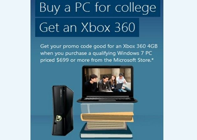 Microsoft vuelve a la escuela, Xbox gratis por la compra de un PC Windows 29