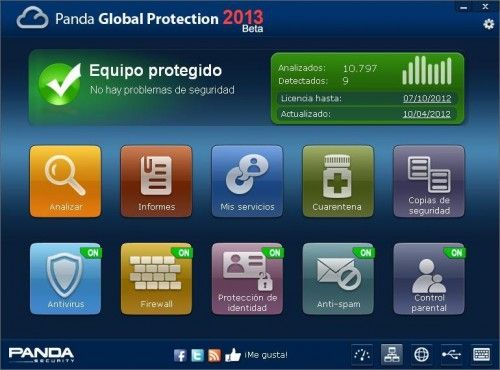 PandaGlobalProtection2013Beta 2 de Panda Global Protection 2013