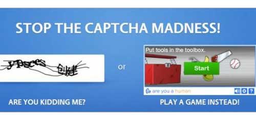 Nuevo sistema CAPTCHA basado en minijuegos: PlayThru 28