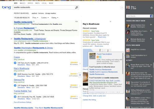 Bing se reinventa: a por la búsqueda social 29