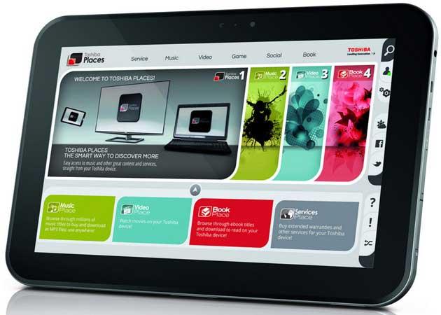 Toshiba anuncia lanzamiento del tablet AT300 32