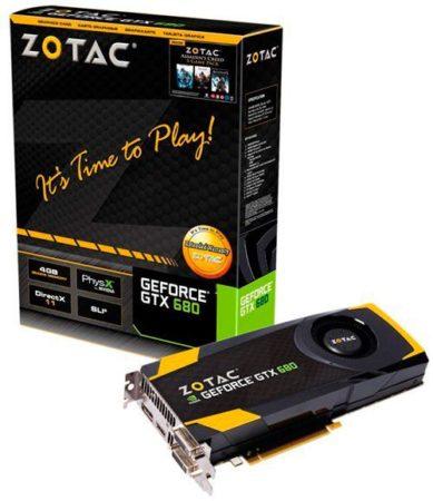 ZOTAC presenta su nueva GeForce GTX 680 AMP! Edition 30
