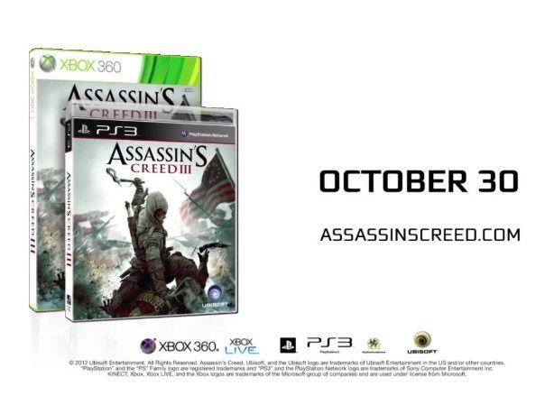 Tráiler de Assasin's Creed III - Unite to Unlock 30