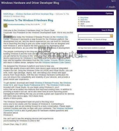 Windows 8 Release Preview podría ver la luz hoy según el su blog 32