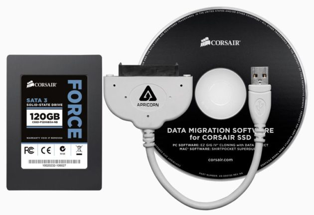 Corsair Force Series 3 SSD Notebook Upgrade Kits 35