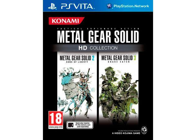 Metal Gear Solid HD Collection para PS Vita estará disponible en junio 28