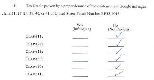 Android gana el pulso judicial a Oracle, no viola sus patentes Java en Android 31