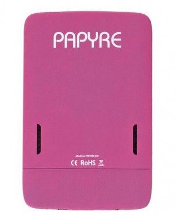 Papyre 601, el lector de ebooks de colores 33