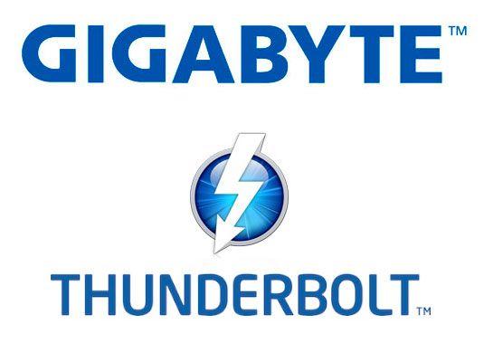 GIGABYTE presenta tres placas base con conectividad Thunderbolt
