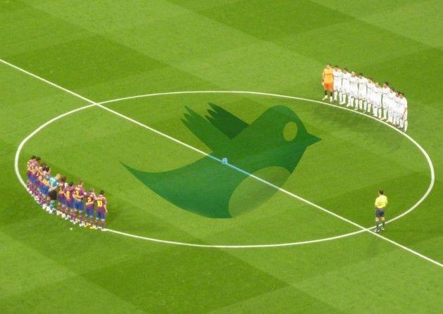 Twitter triunfa entre los futbolistas de la Liga BBVA