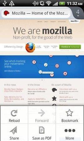 Nueva versión Firefox Beta para Android con soporte Flash, interfaz nativa y mucho más 40