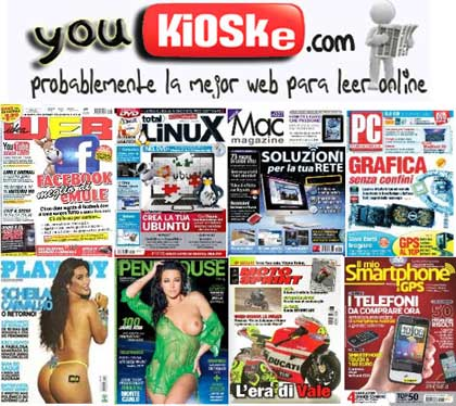 Youkioske K.O., 3 detenidos por pirateo de prensa y revistas 30