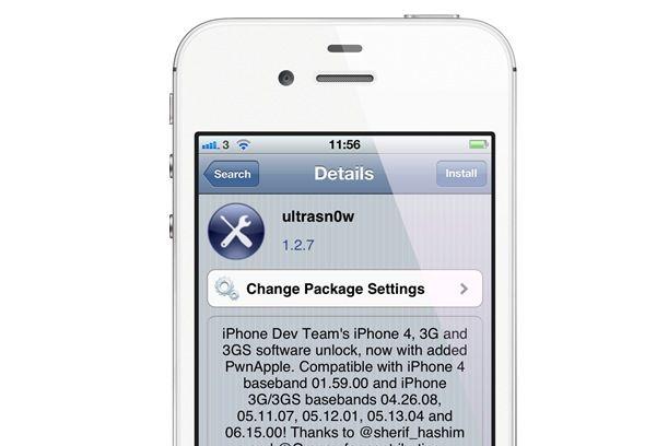 Ultrasn0w 1.2.7 permite la liberación de iPhone en iOS 5.1.1