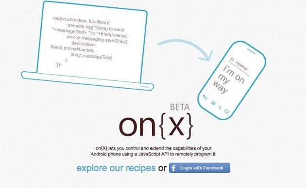 On{X}, plataforma sencilla de Microsoft para automatizar tareas en móviles Android 30