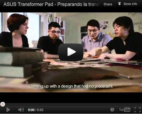 Transformer Pad proceso creativo