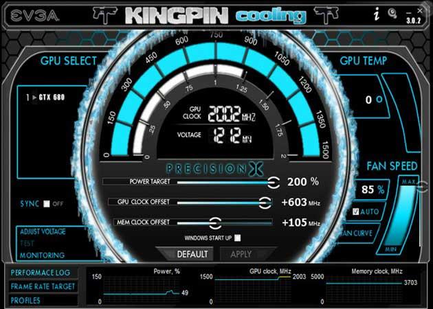 EVGA GTX 680 rompe la barrera de los 2 GHz en una GPU 31
