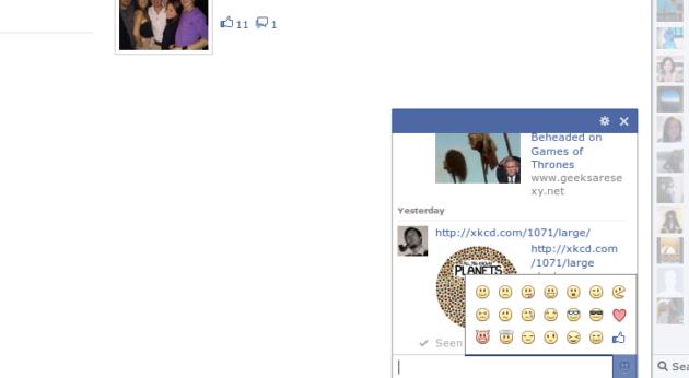 Los emoticonos llegan oficialmente al chat de Facebook 31