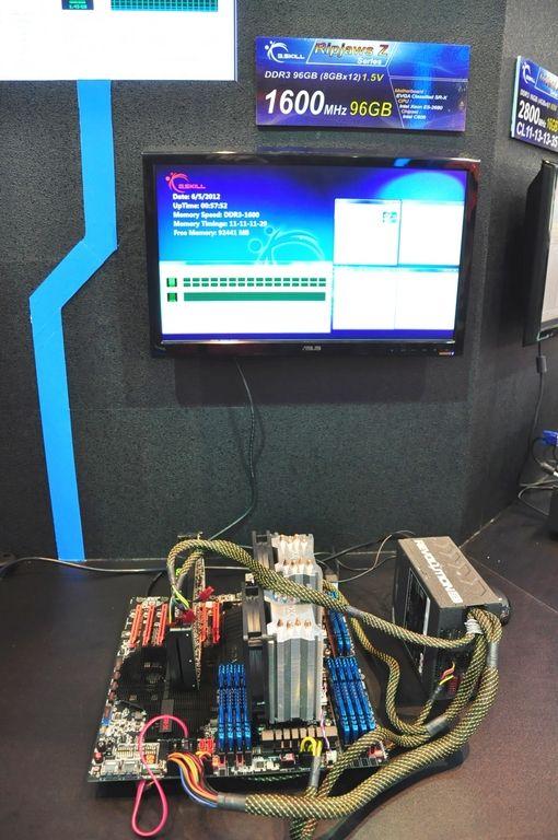 Récord de RAM en un equipo: 96 Gbytes de memoria DDR3 en Computex 2012 31