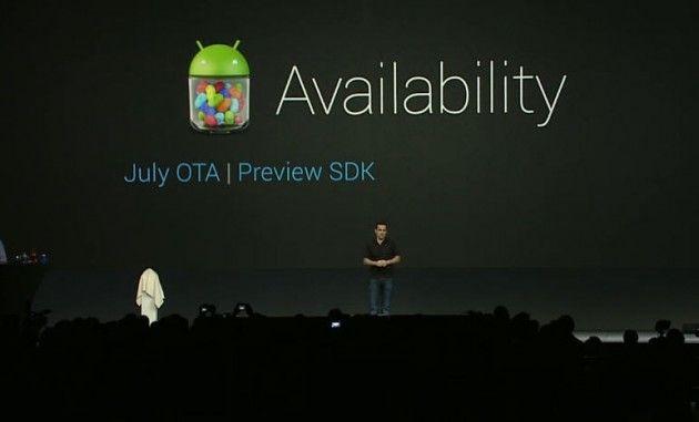 Android 4.1 Jelly Bean estará disponible a mediados de julio, PDK para fabricantes