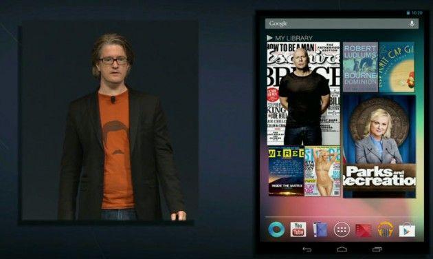 Google Nexus 7, llega el tablet de Google con un enfoque en Google Play 30