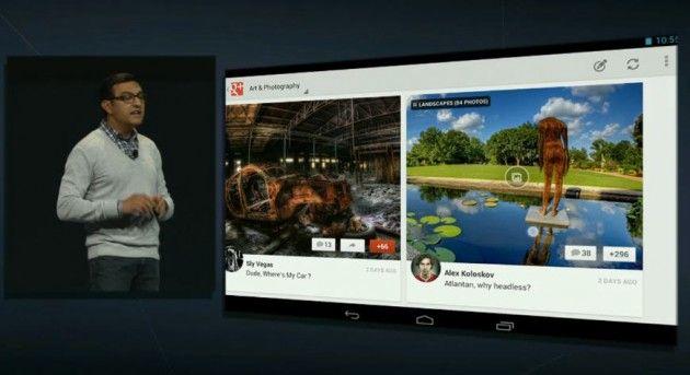 Google+ ya tiene versión específica para tablets Android (e iPads) 33