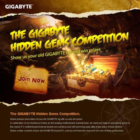 Concurso GIGABYTE Hidden Gems, consigue placas base de última generación